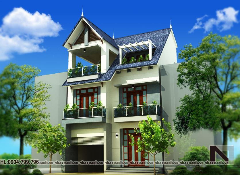 Thiết kế biệt thự tân cổ điển-pc02-4
