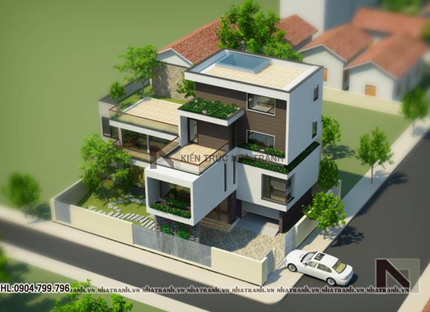 Thiết kế biệt thự hiện đại-pctt