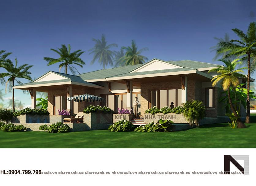 Thiết kế biệt thự vườn-pc01
