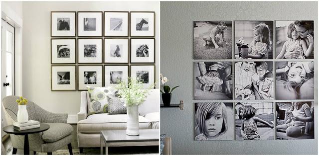 6 ý tưởng độc đáo để treo khung ảnh trong nhà