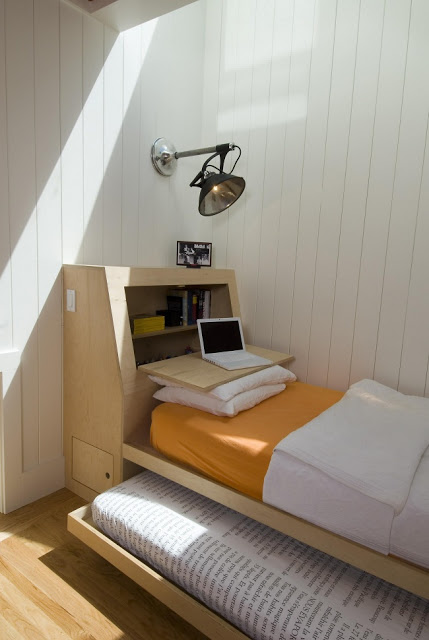 Ý tưởng tuyệt vời cho căn phòng nhỏ