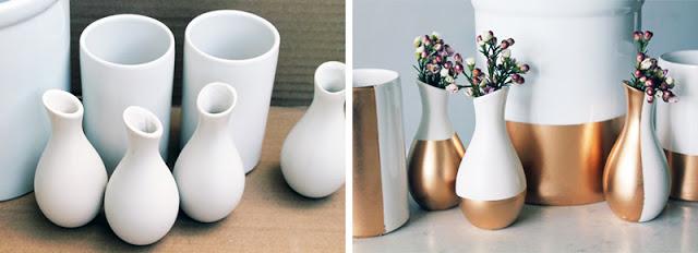 Ý tưởng tuyệt vời để tạo ra những bình hoa handmade cực kỳ độc đáo