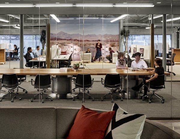 20 ý tưởng thiết kế văn phòng độc và lạ (p1)