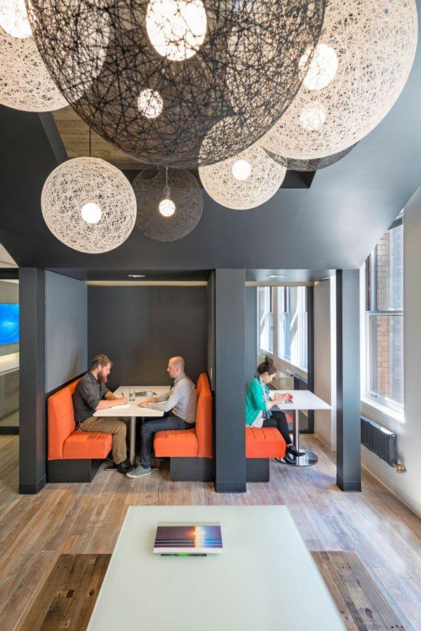 20 ý tưởng thiết kế văn phòng độc lạ (p3)