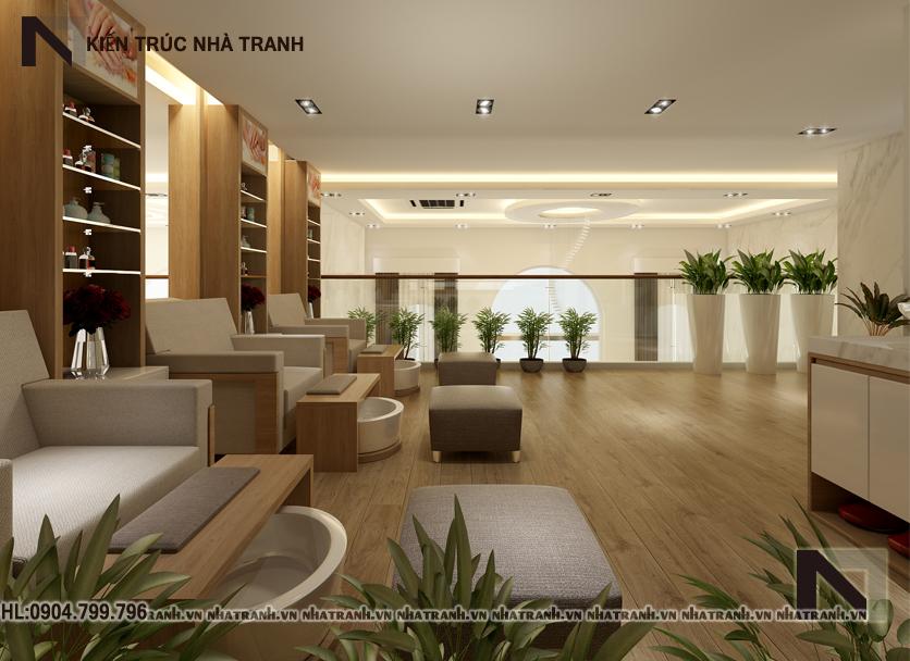 Thiết kế nội thất salon spa