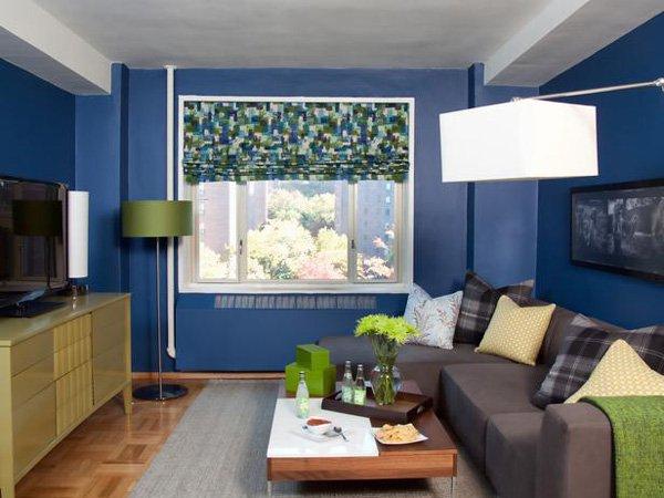 20 ý tưởng nội thất cho phòng khách nhỏ hẹp 13