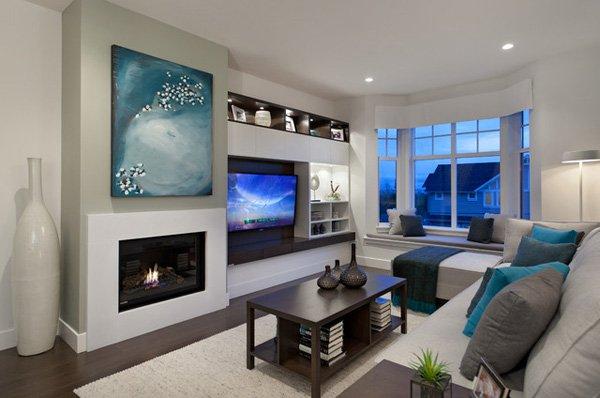 20 ý tưởng nội thất cho phòng khách nhỏ hẹp 14
