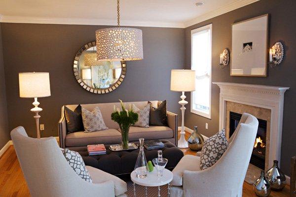 20 ý tưởng nội thất cho phòng khách nhỏ hẹp 15
