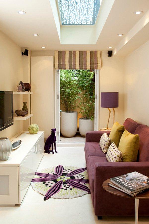 20 ý tưởng nội thất cho phòng khách nhỏ hẹp 2