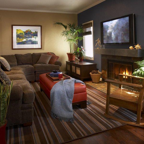 20 ý tưởng nội thất cho phòng khách nhỏ hẹp 18