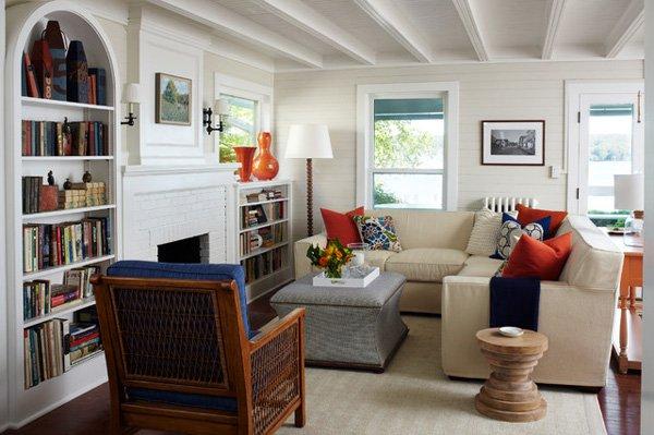 20 ý tưởng nội thất cho phòng khách nhỏ hẹp 3