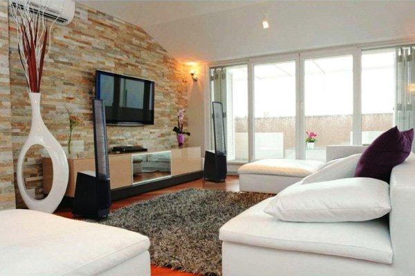 20 ý tưởng nội thất cho phòng khách nhỏ hẹp 5