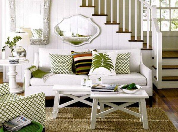 20 ý tưởng nội thất cho phòng khách nhỏ hẹp 6
