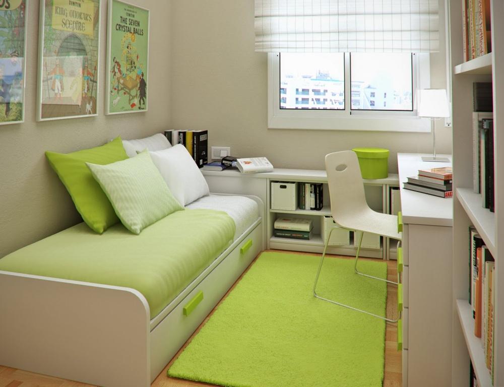 Ảnh: Giải pháp thiết kế nội thất cho phòng ngủ diện tích nhỏ 11