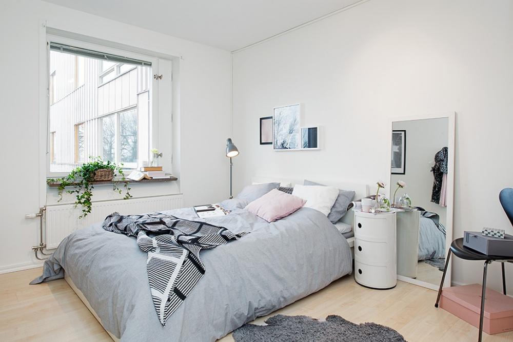 Ảnh: Giải pháp thiết kế nội thất cho phòng ngủ diện tích nhỏ 2