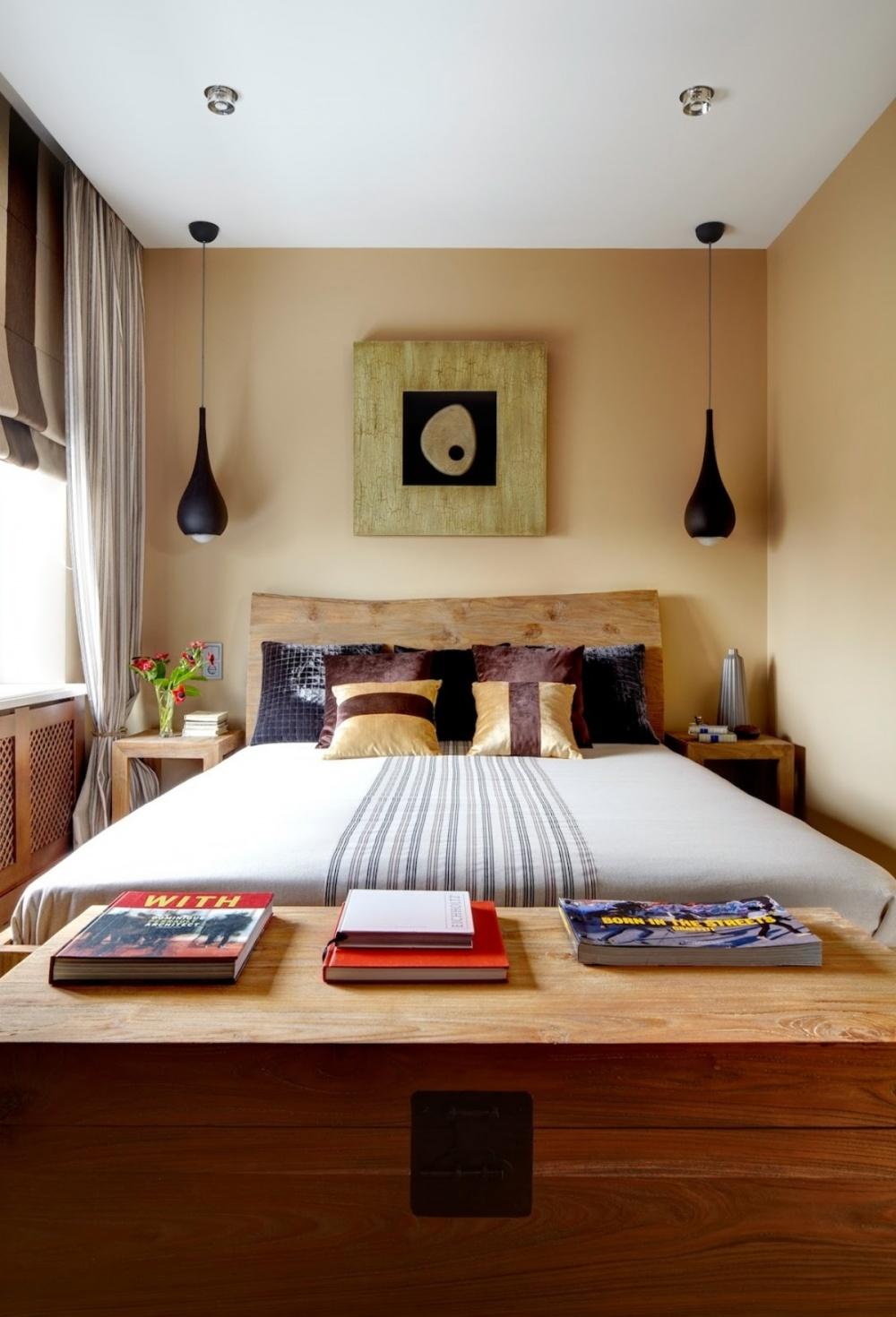 Ảnh: Giải pháp thiết kế nội thất cho phòng ngủ diện tích nhỏ 3