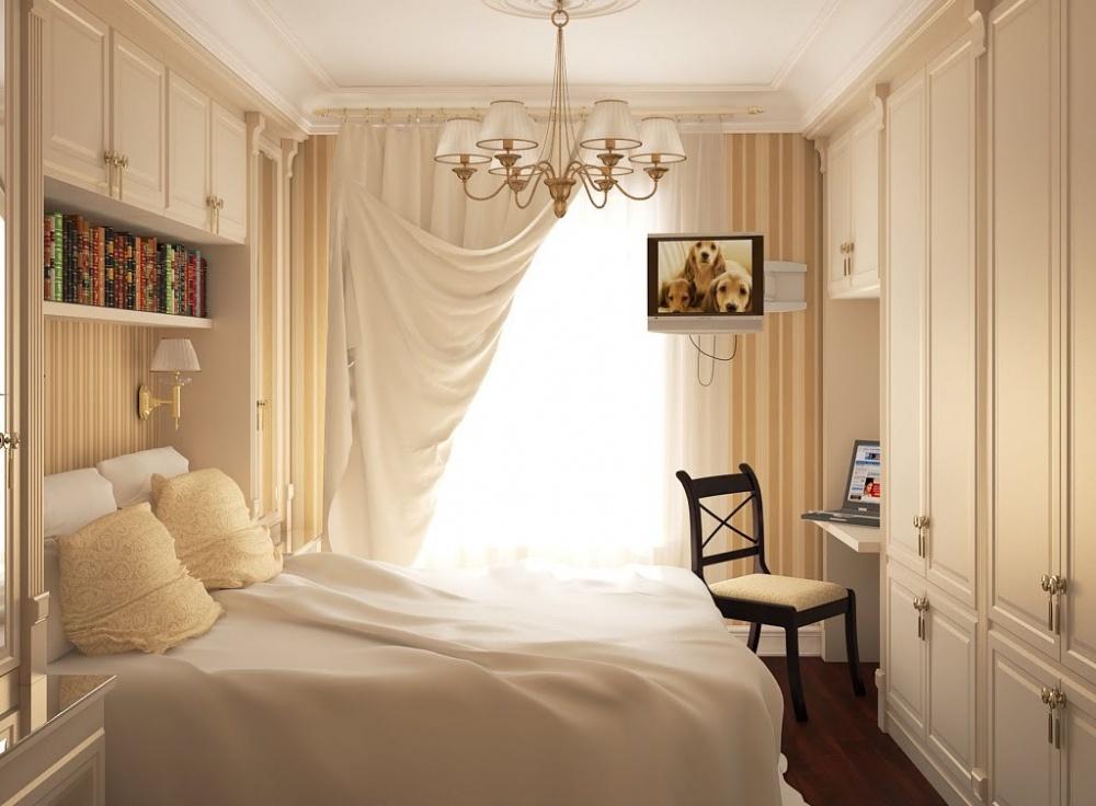 Ảnh: Giải pháp thiết kế nội thất cho phòng ngủ diện tích nhỏ 5