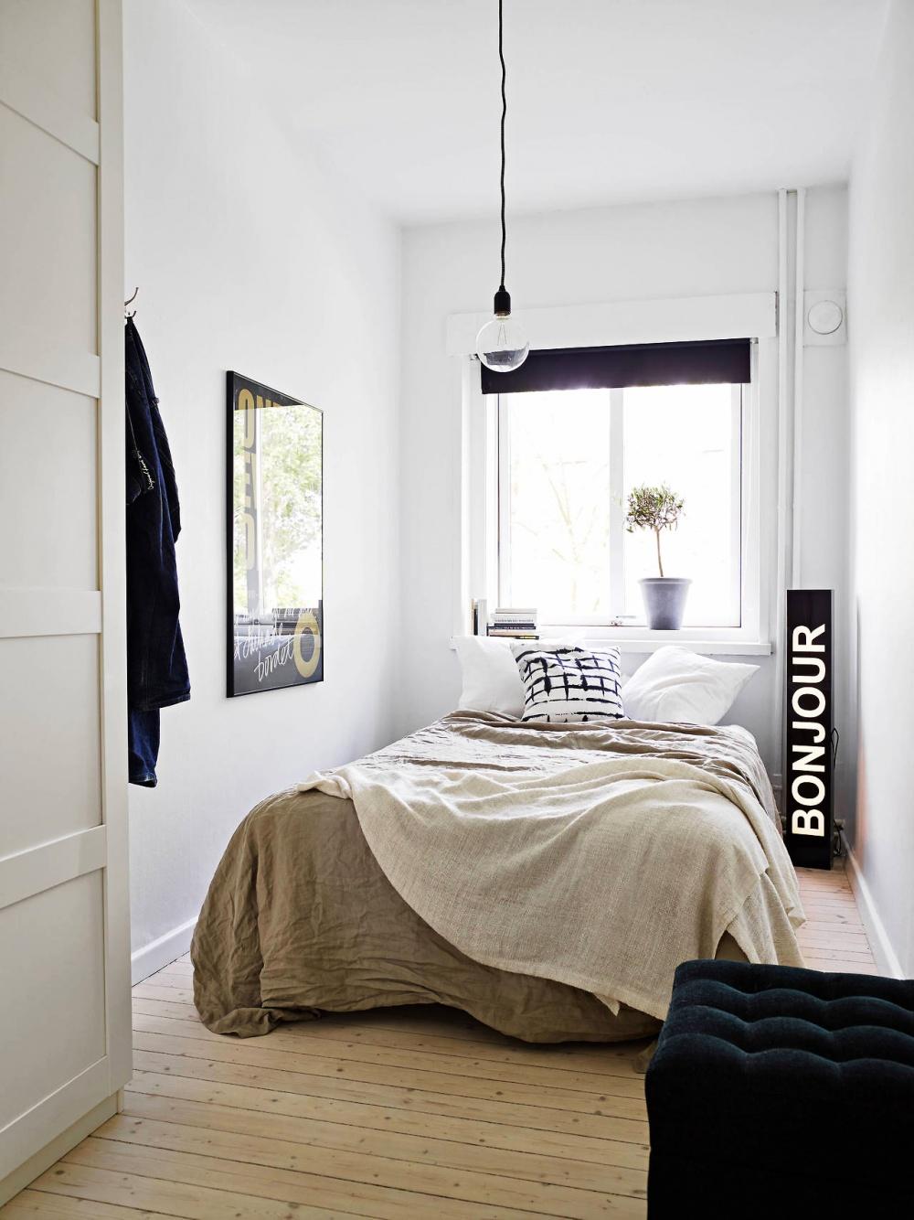 Ảnh: Giải pháp thiết kế nội thất cho phòng ngủ diện tích nhỏ 9